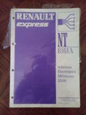 RENAULT EXPRESS revue technique NT 8161A Schémas électriques année 2000