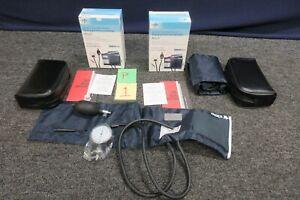 Medline Sphygmomanometer Adult Blood Pressure Cuff Aneroid Medical Handheld Arm