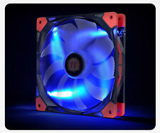 THERMALTAKE 14cm LUNA ANTI-VIBRATION BLUE LED Fan Model: CL-F021-PL14BU-A [F33]