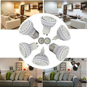 Dimmable LED Spot Light Bulbs 8W SMD GU10 MR16 E26 E27 Bulb High Power Lamp 024