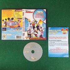 (DVD) Walt Disney Junior LA CASA DI TOPOLINO E CONCERTO (2011) Sped GRATIS !!!