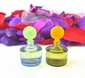 Claiborne Curve (Lot of 2) Parfum & Cologne (.18oz / 5.3ml) Splash Mini's *NEW*