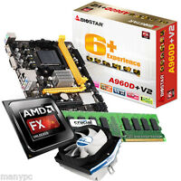 Aufrüst Bundle AMD FX-4300 Quadcore 4x 3,8 GHz 4GB DDR3 Biostar 890GX Mainboard