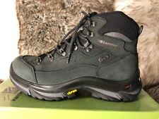 British Karrimor Brecon Nubuck Hiking Boots-Men's 8M Black