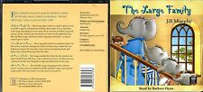 The Large Family (Jill Murphy) cd album- 4 stories read by Barbara Flynn