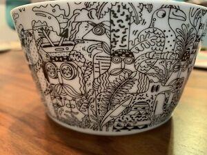 Steven Harrington x Ikea ceramic bowl New