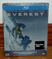 EVEREST-EDICION STEELBOOK-BLU-RAY-NUEVO-PRECINTADO-NEW-SEALED-HISTORIA REAL