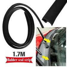 1.7m Car Rubber Front Windshield Panel Seal Strip Sealed Mounting Trim T-Shape