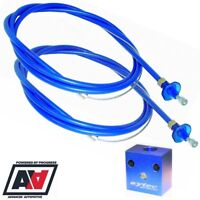 Sytec Motorsport Blue Twin Throttle Cable Kit 1.3 Metre Length Weber Dellorto
