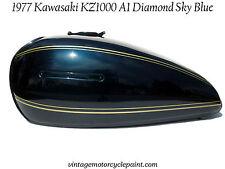 KAWASAKI PAINT 1977 KZ1000 A KZ 1000 DIAMOND SKY BLUE BEST COLOR AVAILABLE