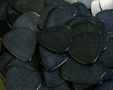 100 BLACK Standard Plastic Guitar Picks MEDIUM .73mm Bulk Wholesale Lot