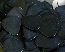 100 BLACK Standard Plastic Guitar Picks MEDIUM .73mm Bulk Wholesale Lot