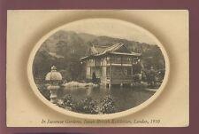GB EXHIBITION JAPAN BRITISH 1910 PPC + POSTMARK
