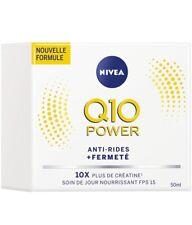 soin Nivéa jour nourrissant Anti-Rides + fermeté Q10 power 50ml