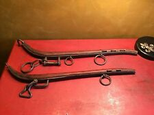 Antique Wooden Horse Harness parts