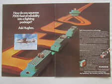 8/1977 PUB HUGHES AIRCRAFT CIRCUITRY CONNECTOR AEROSPACE NAVY A-6E ORIGINAL AD