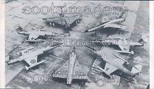 1964 NATO Airplanes French Mirage CF-104 F-104G Javelin F-105 Press Photo