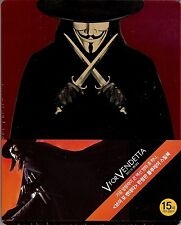 V for Vendetta Limited Edition SteelBook w/J-Card (Region Free Korea Import)