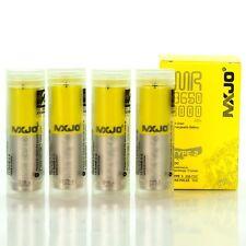 4X MXJO 3000MAH 35A IMR 18650 3.7V Battery Authentic Original Flat Top Batteries