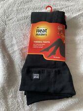 Sockshop heat holders thermal tigths Xl Extra Large black 160denier 0.52 tog BN