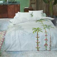 PiP Studio Bettwäsche Indian Palms White Blumen Pfau Vögel romantisch Perkal