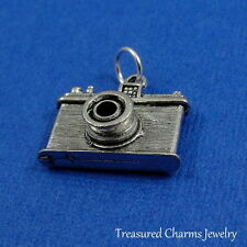 Silver CAMERA Photographer Photography Travel CHARM PENDANT