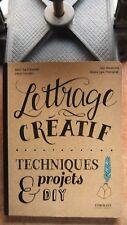 LOISIRS CREATIFS  - DESIGN GRAPHIQUE / LETTRAGE CREATIF TECHNIQUES ET PROJETS