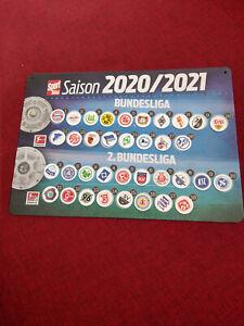 SportBild Magnettabelle 2020/2021 (benutzt)