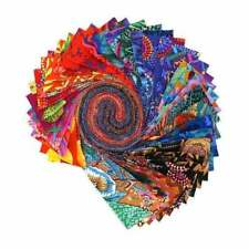 "Kaffe Fassett Collective 2020 Warm, Design Roll, 2.5"" Fabric Quilting Strips"