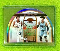 JA MORANT PRIZM ROOKIE CARD REFRACTOR RC #/99 SP GRIZZLIES  2019-20 Crown Royale