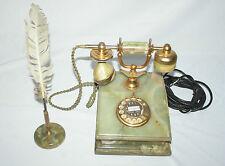 Altes Post Wählscheiben Haus Telefon DFeAp 302 Venezia Onyx Marmor