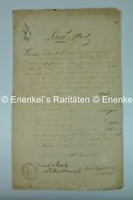 Schul Attest, school report, Philipp Sommernitz, 1836, Nachod, Judaica
