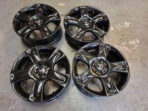 "Genuine Mini Cooper S 17"" Bullet Alloy Wheels + Tyres R52 R53 R55 R56 BBS Black"