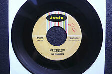 "7"" The Teardrops - We Won't Tell/ Al Chiar Di Luna - USA Josie Doo Wop"