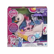 My Little Pony Friendship is Magic Pinkie Pie Row and Ride Swan Boat