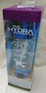 The HYDRA Smartbottle Blue 20oz Beverage Bottle Alternate Bottle Open-2 NEW