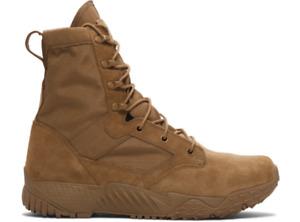 """Under Armour 1264770 Men's UA Jungle Rat 8"""" Tactical Duty Storm Leather Boots"""