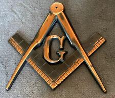 Mason Masonic Freemason Office Door Wall Mount Sign Symbol