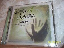 TIME LIFE SONGS 4 WORSHIP AH, LORD GOD  2 disc set LOOK BUY