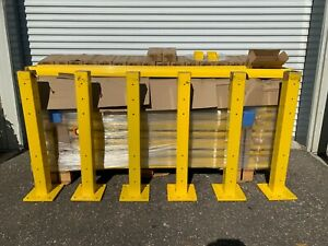 HUGE LOT OF BRAND NEW Uline Guardrails Posts & Pockets Incl. Flat Rate Freight