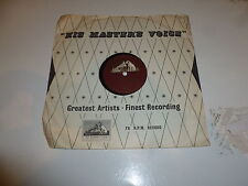 """CENTRAL BAND OF THE ROYAL AIR FORCE - The DAM Busters - HMV 78 10"""" Vinyl Single"""