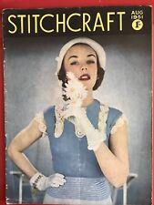Vintage Stitchcraft Knitting Magazine - August 1951