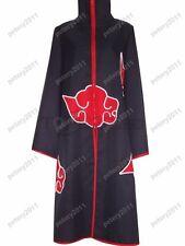 Naruto Akatsuki Pain Uchiha Itachi Cosplay Costume Cloak Coat