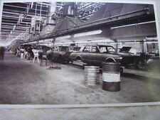 1963 - 1964 PLYMOUTH VALIANT  ON ASSEMBLY LINE  11 X 17  PHOTO  PICTURE