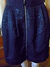 Cue in the city black skirt size 12 fully lined
