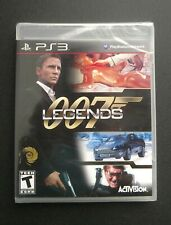 007 Legends (Sony PlayStation 3, 2012) Factory Sealed!!! New!!!