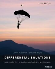 Differential Equations: An Introduction to Modern Methods and Applications 3E
