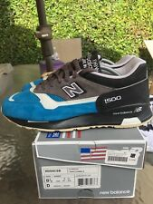 New Balance 1500 WBB Provider Sz 9 US Made In England Blue Suede Rare
