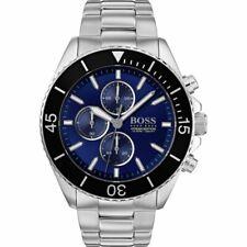 Ex Display Model - Hugo Boss Men's Ocean Edition Silver Blue Watch HB1513704