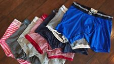 Lot of 7 Abercrombie & Fitch, Hollister Men's Boxer Briefs in great condition